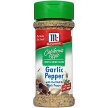 McCormick California Style, Garlic Pepper, 2.75 oz - $14.80