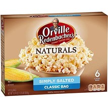 Orville Redenbacher's Naturals Simply Salted Microwave Popcorn, 6-Count - $14.58