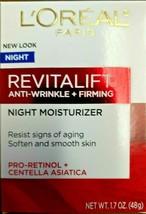 Loreal Revitalift Anti-Wrinkle + Firming Night Moisturizer 1.7 Oz - $15.79