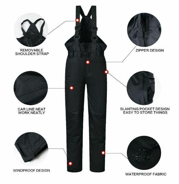 Ski Jacket Pants Coat Winter Waterproof Suits Snowboard Clothing Snowwears Suits image 8