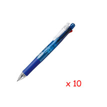 [Xmas] Zebra B4SA1 Clip-on multi 0.7mm Multifunctional Pen (10pcs) - Blue - $38.32