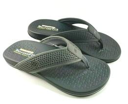 Skechers 65093 Men's Relaxed Fit Memory Foam Thong Sandal Choose Sz/Color - $48.00