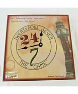 Family Board Game Twenty Four Seven 24/7 Round the Clock Complete Vintag... - $24.75