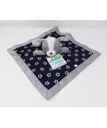 Child of Mine by Carter's Gray Dog Cuddle Blanket with Rattle - New - $23.74