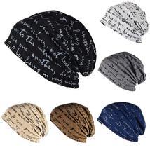 Mens Womens Hip-Hop Warm Winter Black Knit Ski Beanie Skull Cap Black Hat