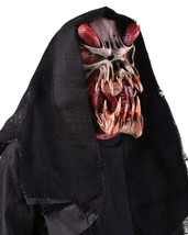 Skull Mask Predator Red Hood Snake Tongue Gruesome Scary Halloween Costu... - $110.02 CAD
