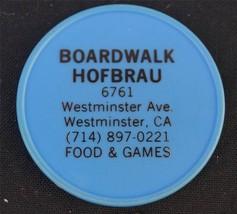 Vintage Boardwalk Hofbrau Westminster California Raincheck Cocktail - $4.94