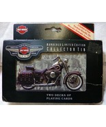 1998 Harley-Davidson Numbered Limited Ed Tin 95th Anniversary Playing Ca... - $14.99