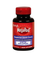 NEW Schiff MegaRed Superior Joint Care, 60 Softgels **FREE SHIPPING** - $36.99