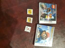 Nintendo 3DS Lot Bundle Kirby Mario Maker Legi Wreck It - $39.75