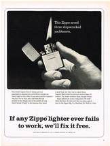 Vintage 1963 Magazine Ad Zippo Lighter Are Trusty Companions They Work - $5.93