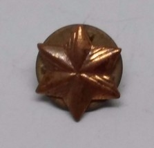 Canadian Copper Star Pin - $5.93