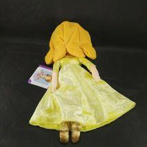 "Disney Jr Sofia The First Princess Amber Plush Doll Glitter Dress 13"" Sophia image 4"