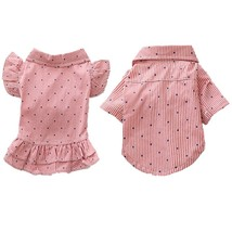 Couple Dog Clothes Summer Pet Dog T-shirt Clothing For Small Dogs Chihua... - $580,95 MXN