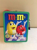 2001 M&M'S METAL LUNCHBOX WITH TAGS!                                    ... - $19.34