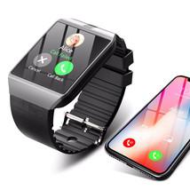 Bluetooth Black Smart Watch Android Phone Sport Waterproof Samsung HUAWEI - $26.99