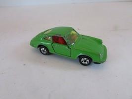 DIECAST 1976 TOMY TOMICA PORSCHE 911S  NO. F3 GREEN CAR JAPAN S-1/61 - $11.71