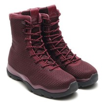 Nike Jordan Future Boot Sz 11 Maroon Burgundy Red Black Boots 854554-600 - $90.00