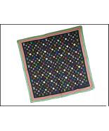 "Louis Vuitton Takashi Murakami Scarf Silk 26"" Eye Love Monogram Black Ba... - $691.02"