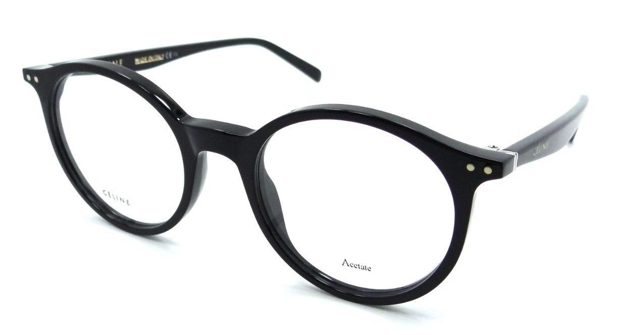 29d279b9106 Celine Rx Eyeglasses Frames CL 41408 807 49-20-140 Black Made in Italy -   176.40