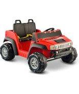 Kid Motorz Hummer H2 12-Volt Battery-Powered Ride-On, Red - $408.99