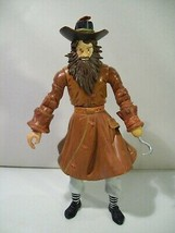 Disney Parks Pirates Of The Caribb EAN Treasure Keeper Action Figure Hook Hand - $15.63