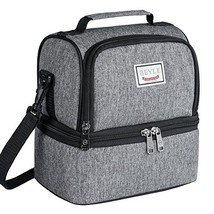 Lunch Box, Beyle Insulated Lunch Bag for Men & Women Kid, Mens Large Refrigerate - $12.86