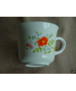 CORELLE WILDFLOWER COFFEE CUPS X 4 EXCELLENT CONDITION FREE USA SHIPPING - $16.82