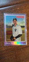 2019 HERITAGE HIGH HOT BOX CHROME PURPLE REFRACTOR ADAM OTTAVINO YANKEES... - $7.99