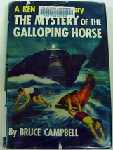Ken Holt Mystery of the Galloping Horse no.9 Bruce Campbell hcdj - $18.00