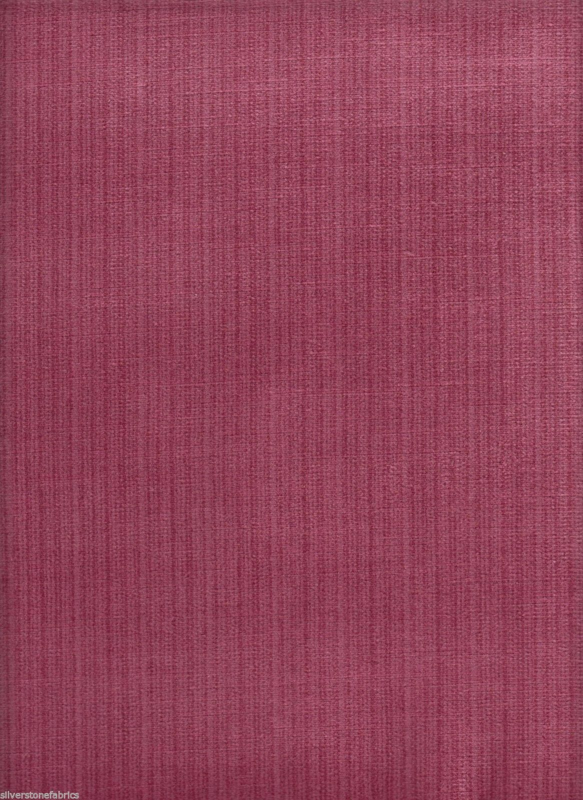 JB Martin Upholstery Fabric Pink Stria Textured Velvet 8.5 yds BH