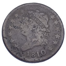 1810/9 1C Classic Head Cent (About Good, AG Condition) - $297.00