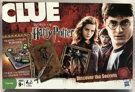 CLUE World of Harry Potter Mystery Board Game Hasbro 2011 Missing 1 Floo... - $39.15