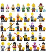 Dragon Ball Z  anime minifigures Toys  Building Block Bricks for kids - $62.00