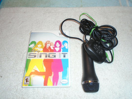 Wii Disney sing It video game with EA microphone - $19.79