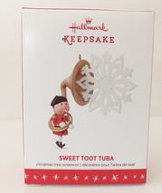 """NIB Hallmark Keepsake Ornament 2016 """"SWEET TOOT TUBE""""  Brand New - $9.49"""
