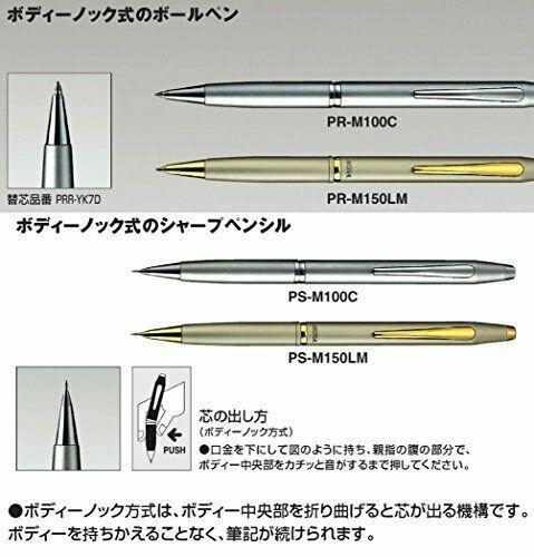 KOKUYO-stationery-Mechanical pencil 0.7mm silver PK-M100C image 5