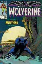 Marvel Comics Presents #8 : Wolverine, Man-Thing, Master of Kung Fu, & Iron-Man  - $3.91