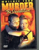 Wallace Ford Murder by Invitation - DVD - $5.75