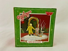 Dept 56 A Christmas Story Ralphie Loses This Glasses 2011 Department - $168.29