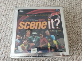 Scene It? Collector's Tin ESPN Sports Edition The DVD Trivia Game Brand New - $5.09