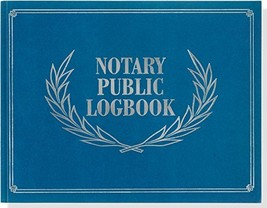 Notary Public Logbook Notary Log Book, Notary Journal - $11.11