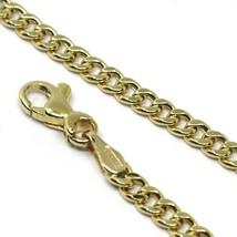 Bracelet or Jaune 18K 750,Chaîne Groumette,Épaisseur 3mm,Longueur 19cm image 2