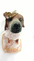"Kurt S. Adler The Dog Resin 3"" Ornament (Spoiled) - $15.00"