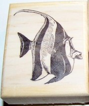 Moor Fish New Mounted Rubber Stamp - $7.00