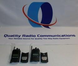 TWO Vertex Standard VX-824-G7-5 450-512 MHz UHF Two Way Radio  - $197.99