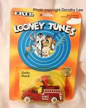 Looney Tunes Ertl 89 New Daffy Duck Fireman Fire Truck - $16.99