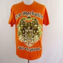 Live Mechanics Well Established Hip Hop Streetwear Graphic T Shirt Mens ... - $28.93