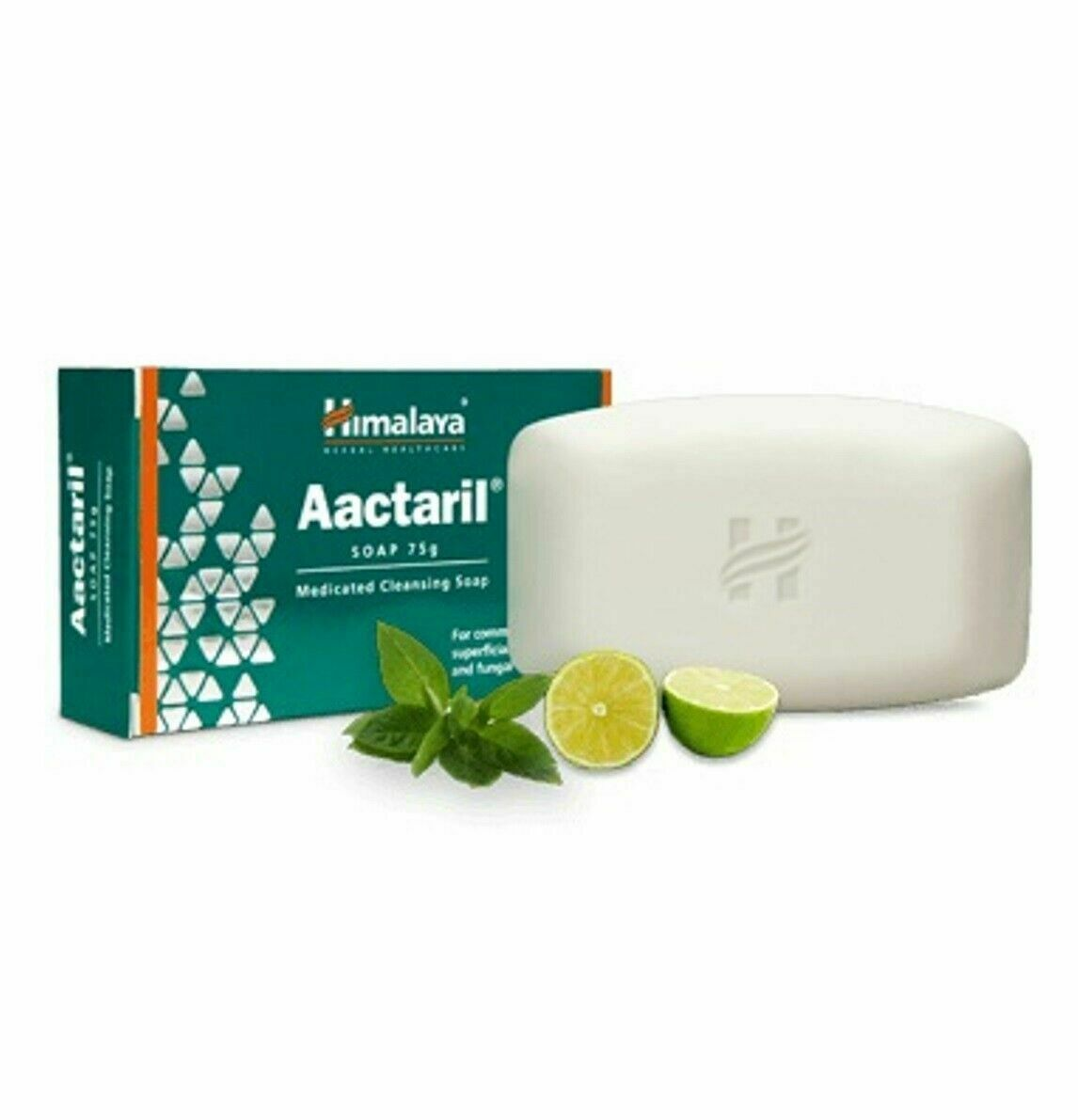 Primary image for Himalaya Herbal Aactaril Medicated Cleansing Soap Ayurvedic Ayurveda Product 75g