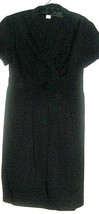 BLACK V NECK MATERNITY DRESS SIZE L - $8.00